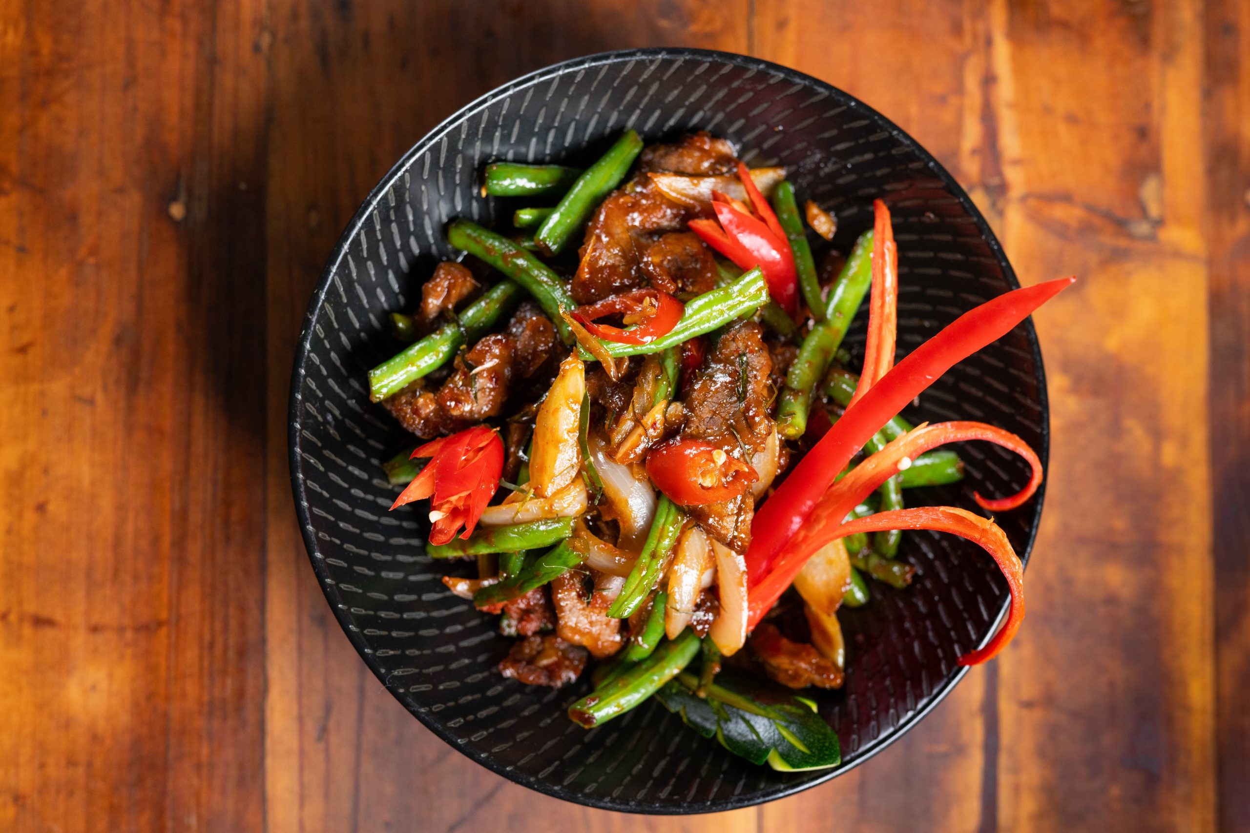 Thai Chilli Jam Beef Stir Fry